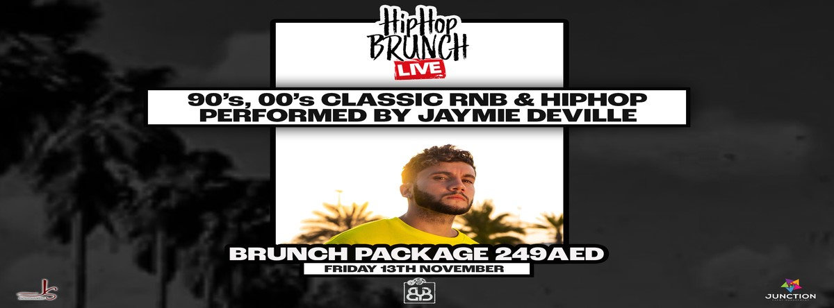 HipHop Brunch LIVE Ft Jaymie Deviile @ BYB