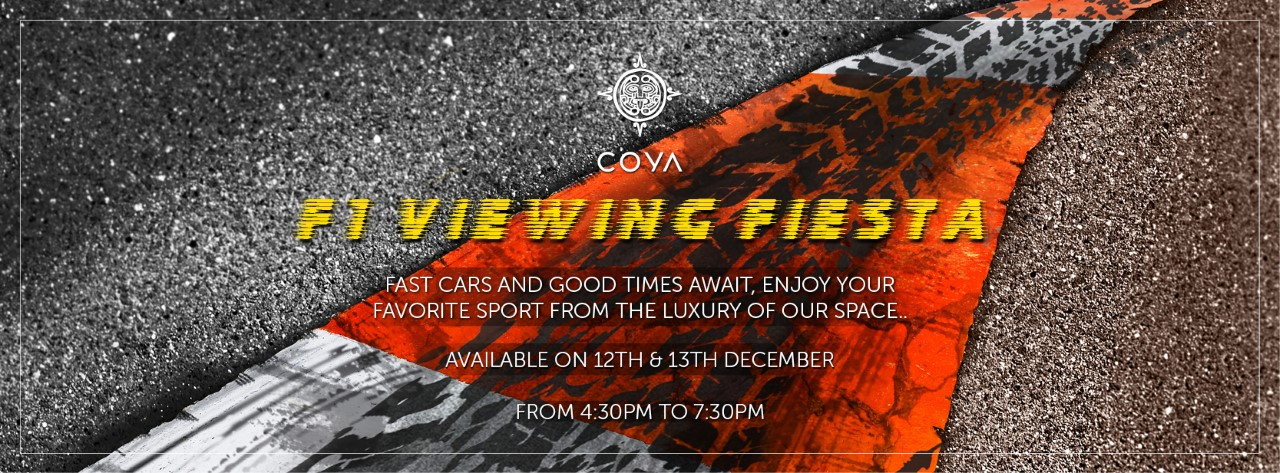 F1 Viewing Fiesta @ COYA Abu Dhabi