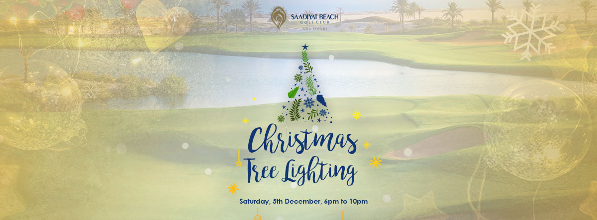 Festive Tree Lighting @ Saadiyat Beach Golf Club