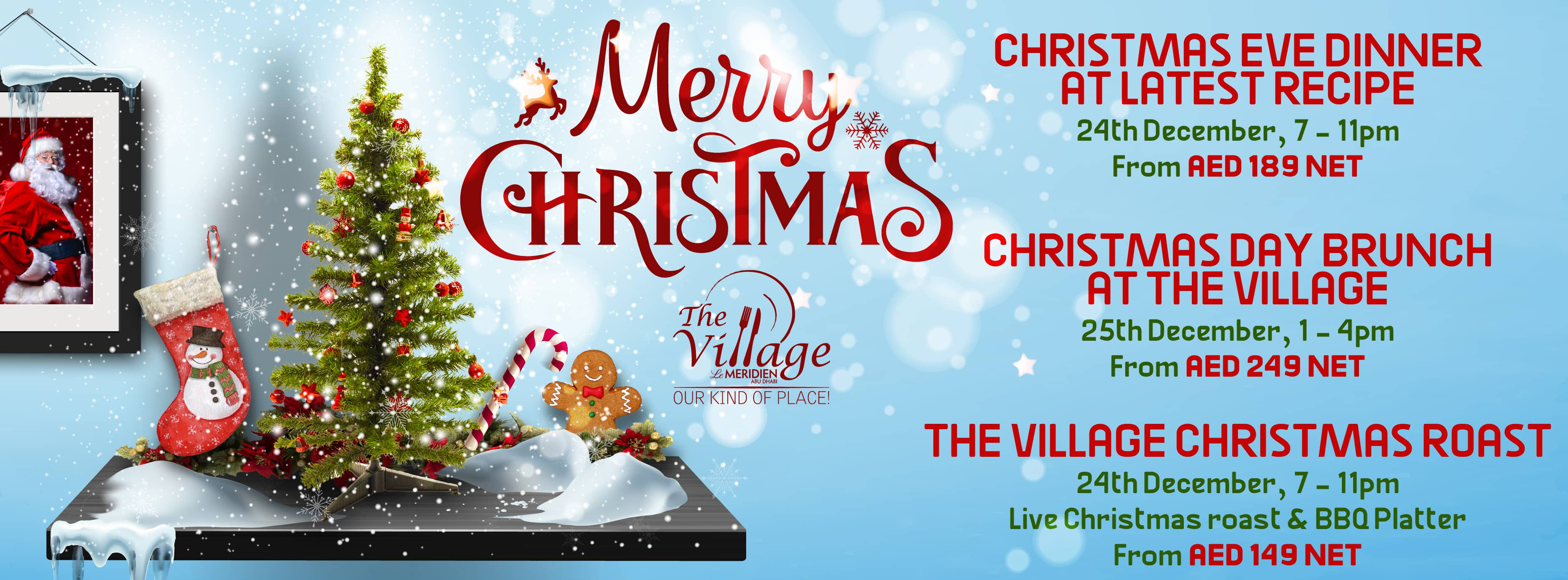The Village Christmas @ Le Meridien
