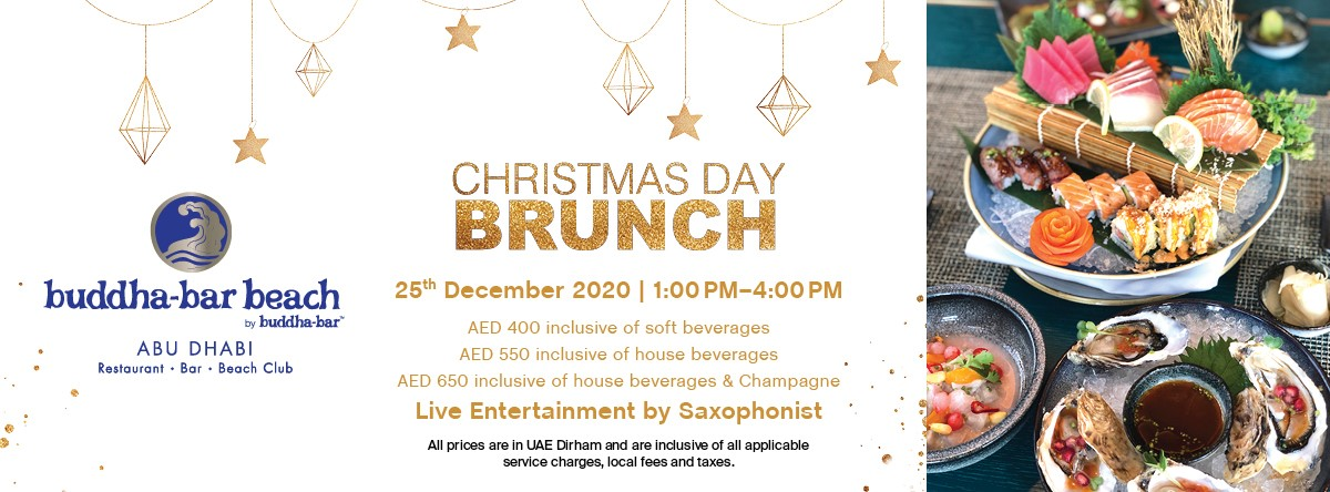 Christmas Day Brunch @ Buddha-Bar Beach