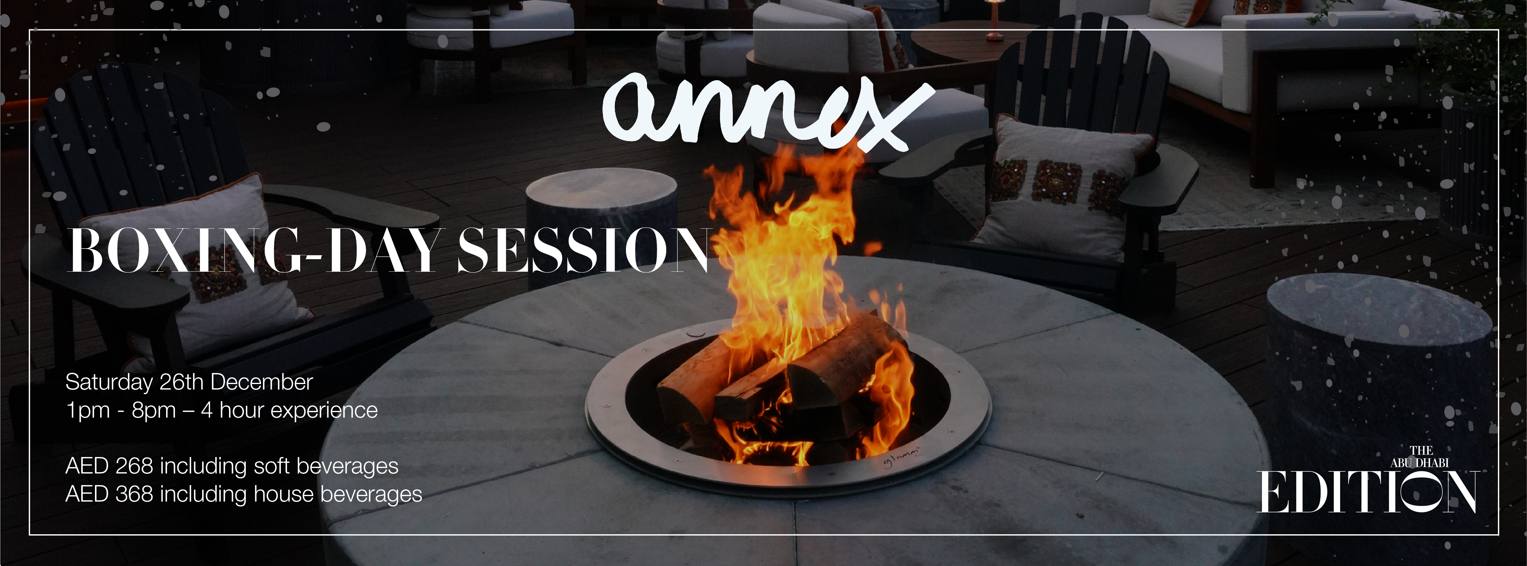 ANNEX Boxing-day Session