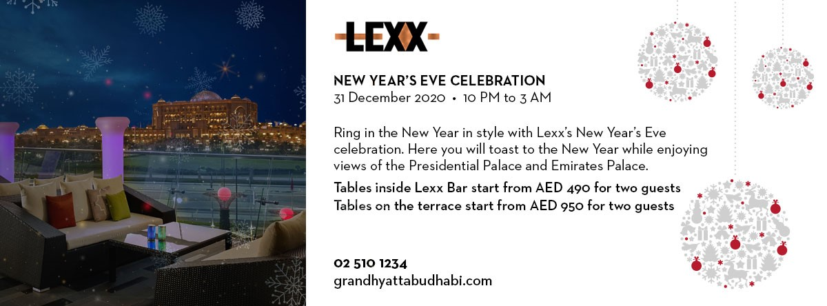 New Year's Eve Celebration @ Lexx Bar