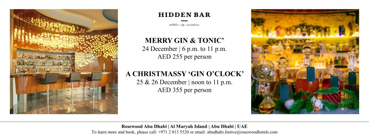 Christmas Celebrations @ Hidden Bar