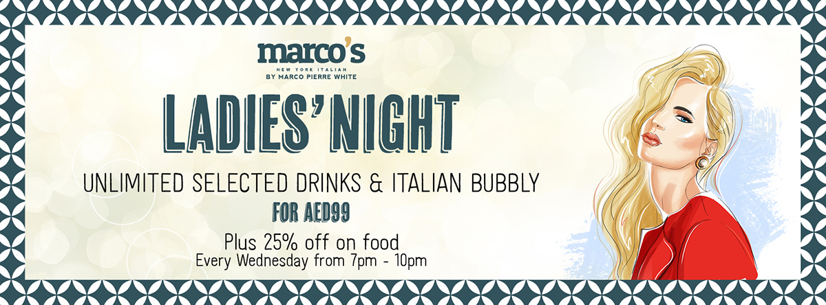 Ladies' Night @ Marcos New York Italian