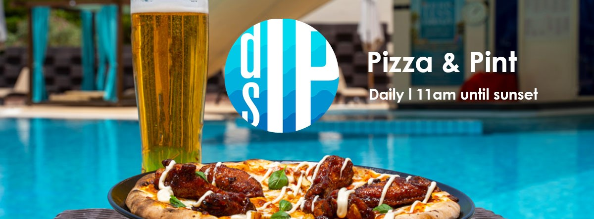 Pizza & Pint @ Dip and Sip