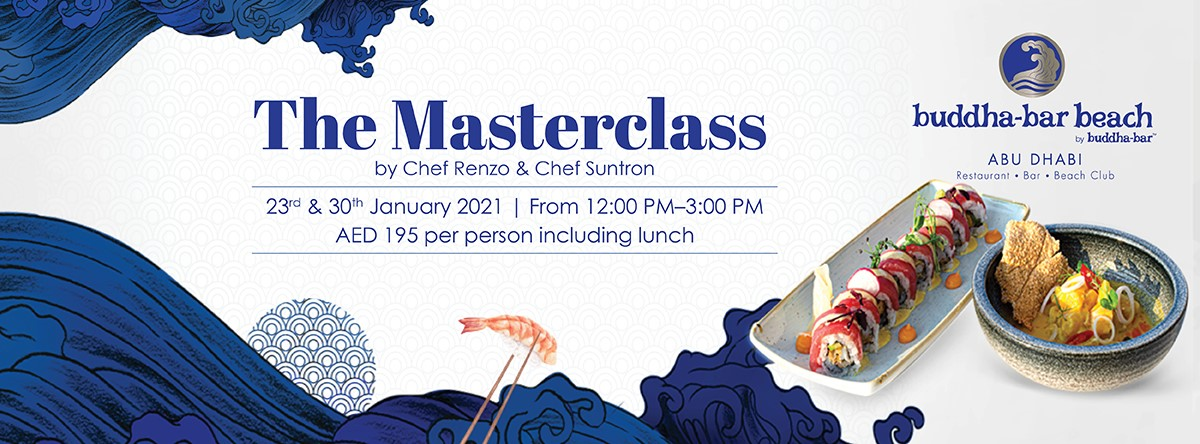 The Masterclass @ Buddha-Bar Beach Abu Dhabi