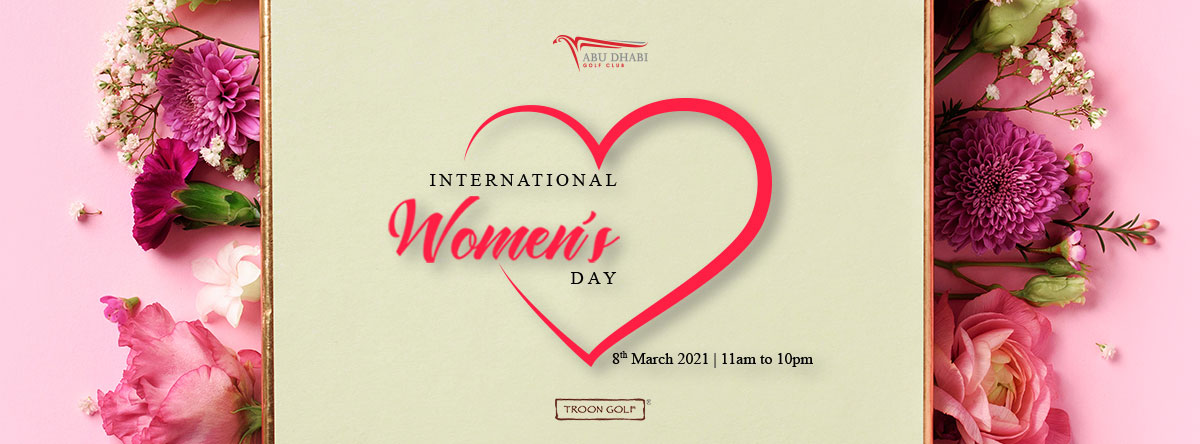 International Women's Day @ Abu Dhabi Golf Club