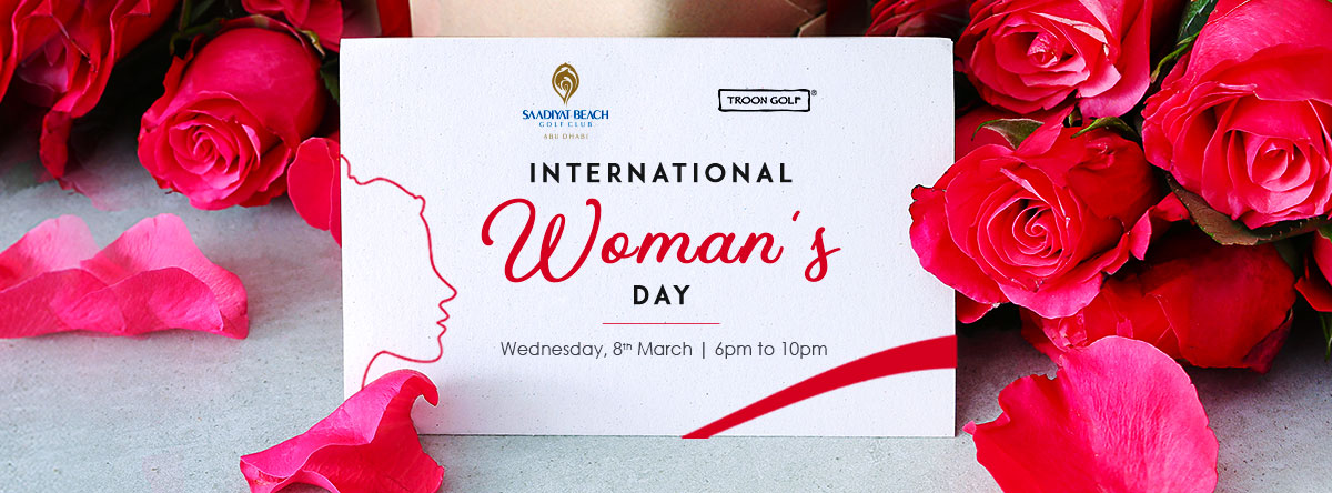 International Women's Day @ Saadiyat Beach Golf Club
