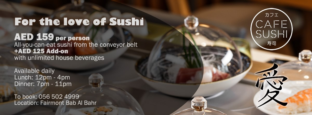 For The Love of Sushi @ Café Sushi