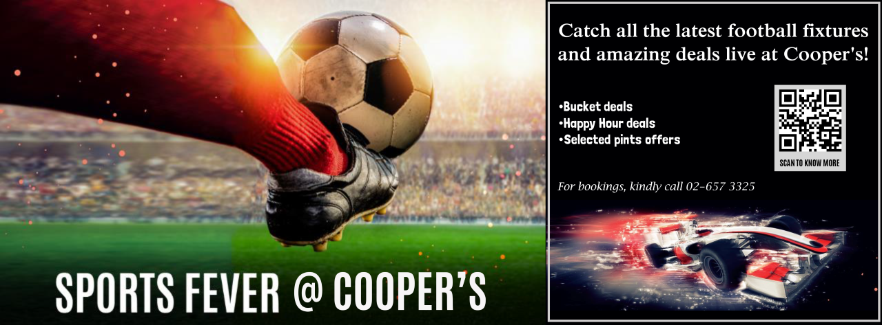 Sports Fever @ Cooper's