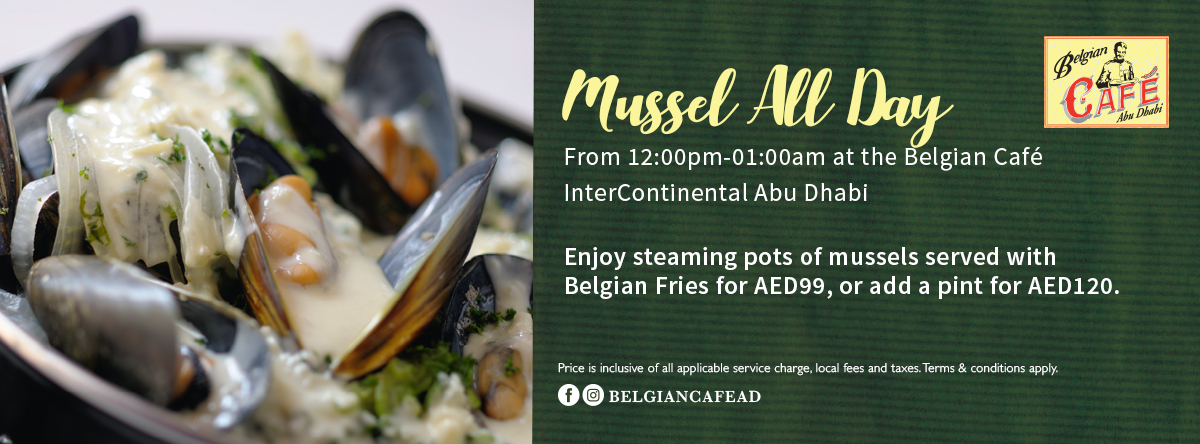 Mussel All Day @ Belgian Café