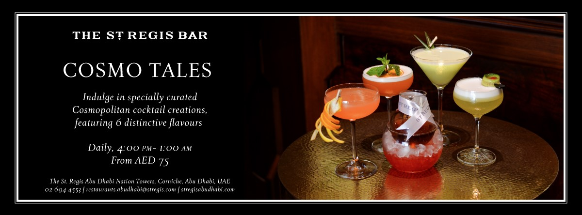 Cosmo Tales @ The St. Regis Bar