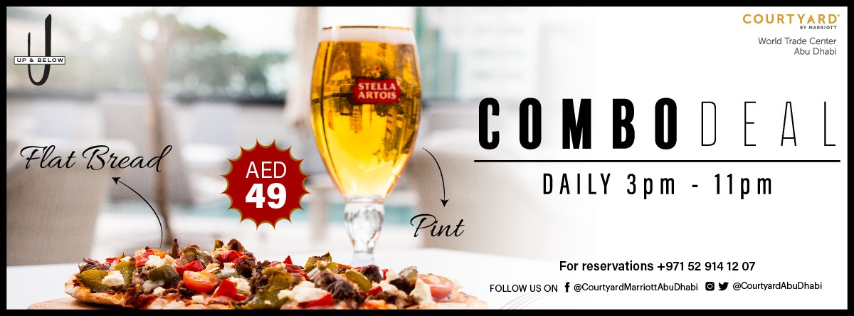 Combo Deal @ Up & Below
