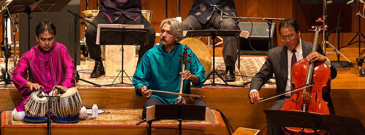 Yo-Yo Ma & the Silk Road Ensemble @ Arts Center at NYU Abu Dhabi