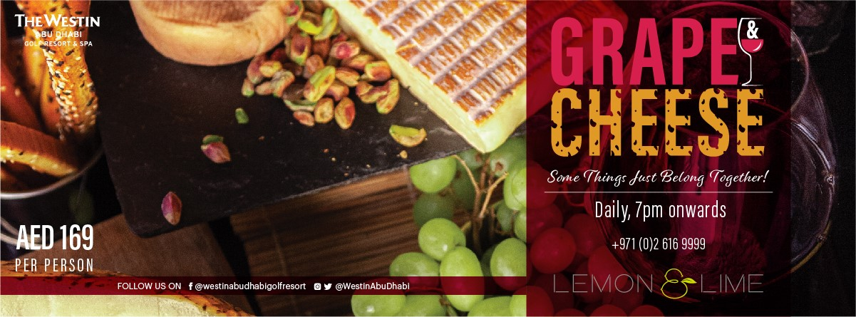Grape & Cheese Night @ Lemon & Lime