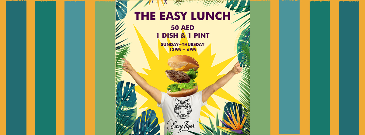 Easy Lunch @ Easy Tiger