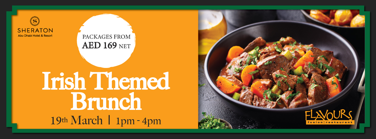 Irish Themed Brunch @  Flavours