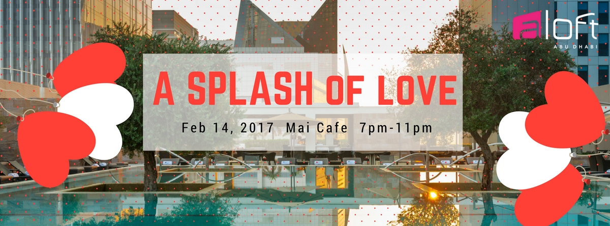 A splash of love @ Mai Cafe
