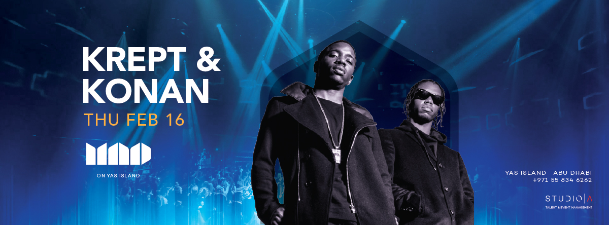 Krept & Konan @ MAD on Yas Island
