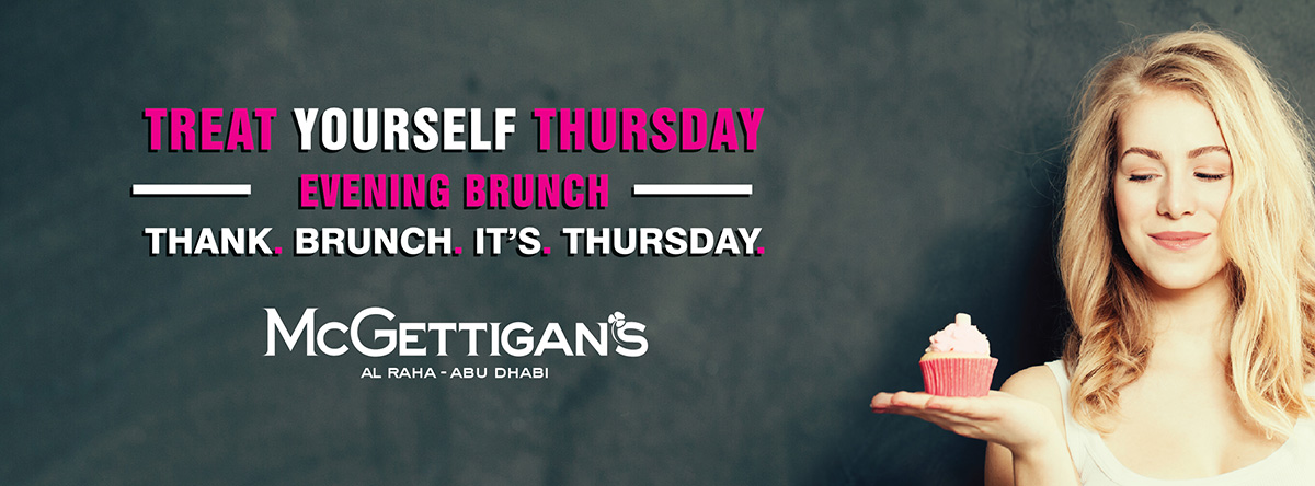 Treat Yourself Thursday Evening Brunch @ McGettigan's
