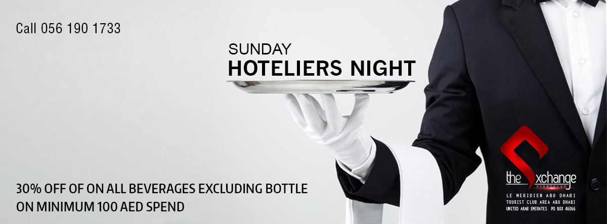 Hoteliers Night @ The Exchange