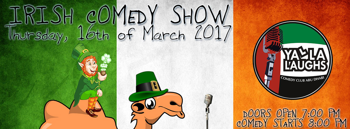 Irish Stand-up Comedy on the Beach