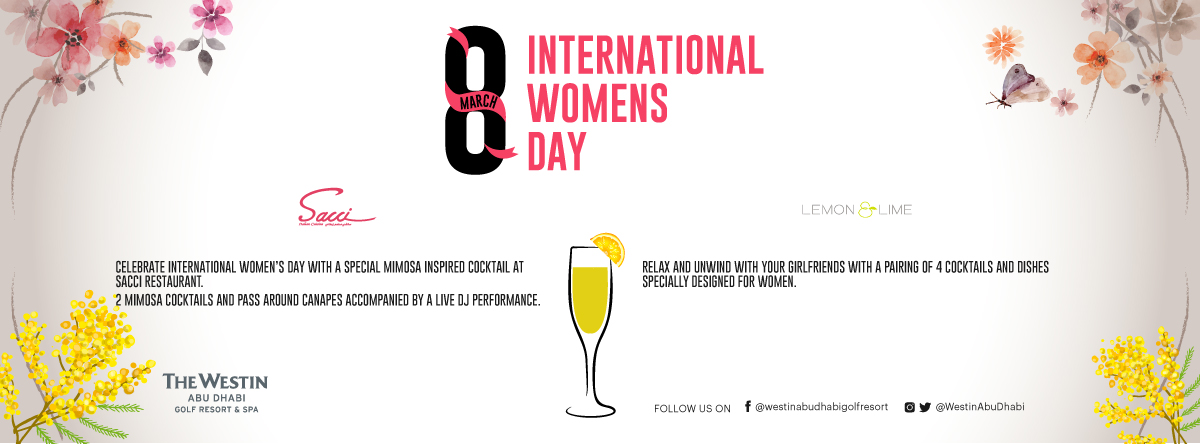 International Women's Day Cocktail Mixer @ Lemon & Lime