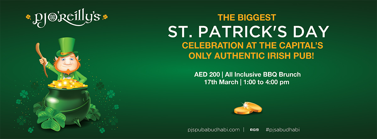 The Biggest St. Patrick's Day Party @ PJs