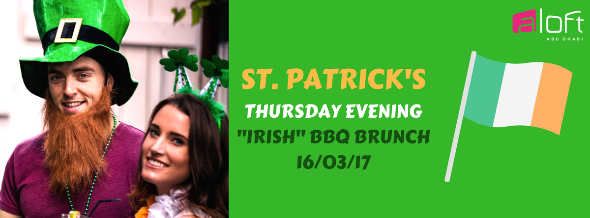 St Patrick's Thursday Evening 'Irish' BBQ Brunch @ Mai Cafe