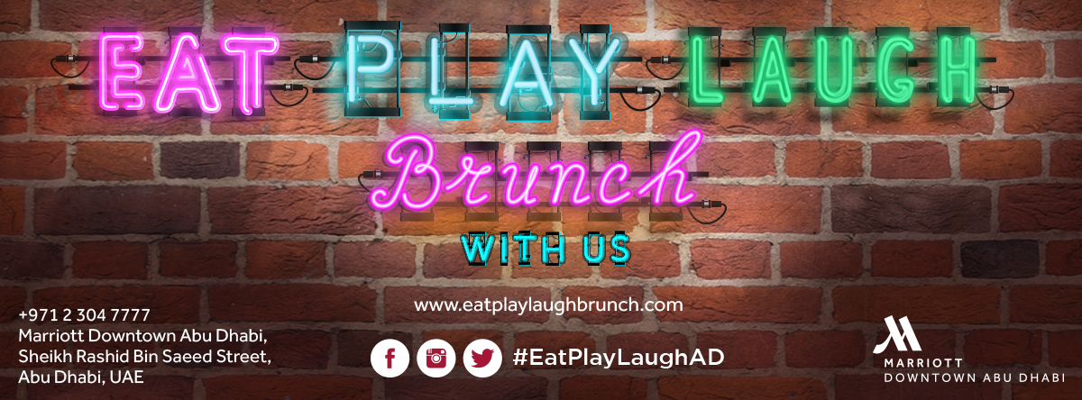 EAT.PLAY.LAUGH. Brunch @ Marriott