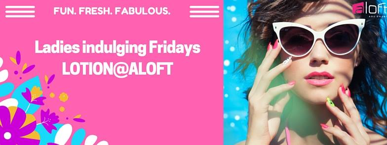Lotion @ Aloft