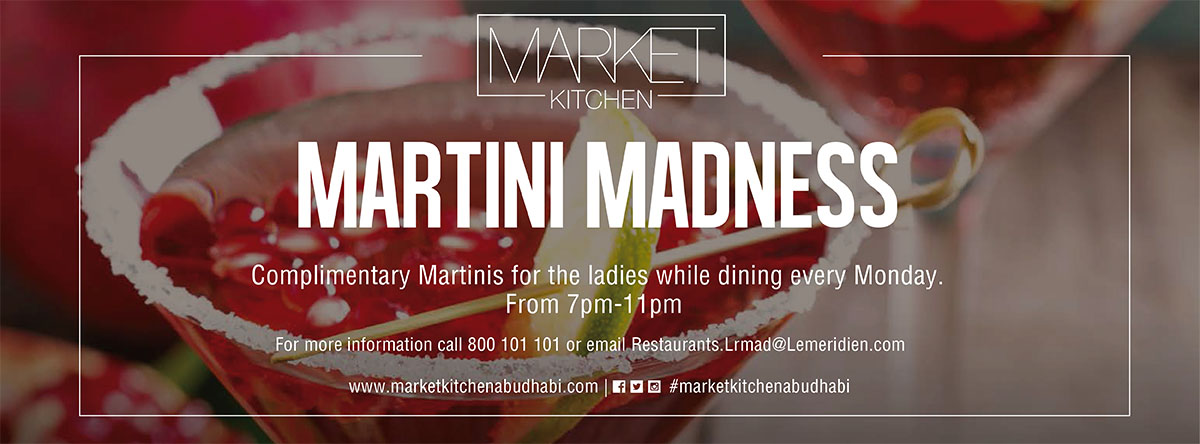 Maritini Madness @ Market Kitchen