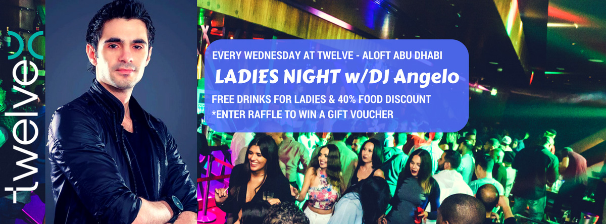 Ladies Night with DJ Angelo @ Twelve
