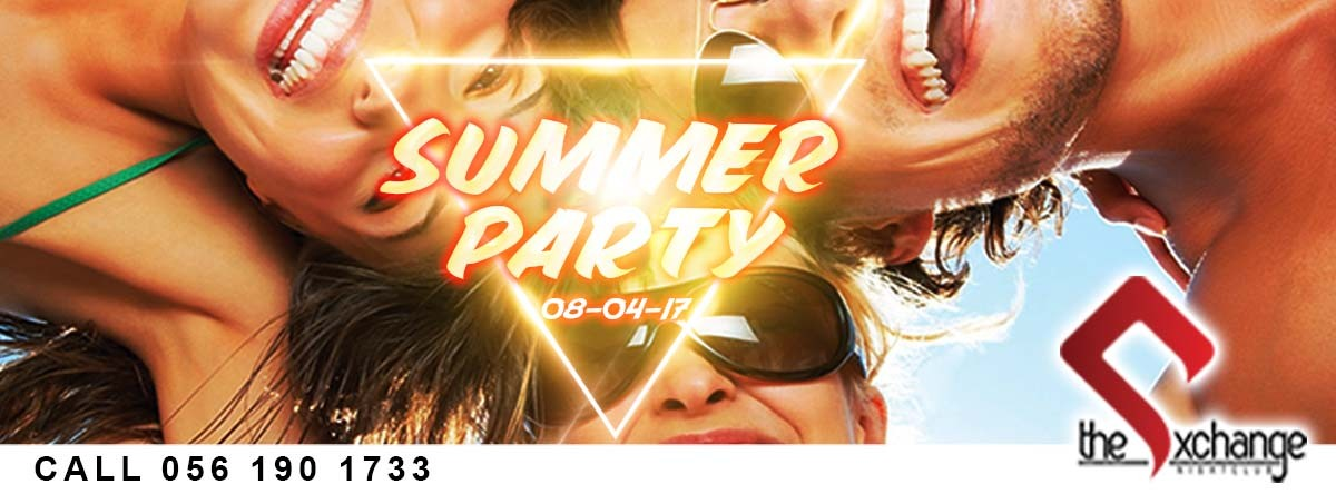 Summer Party @ The Exchange Lounge and Nightclub