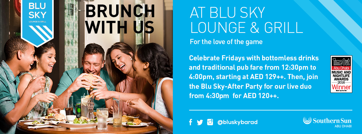 Brunch Fridays @ Blu Sky