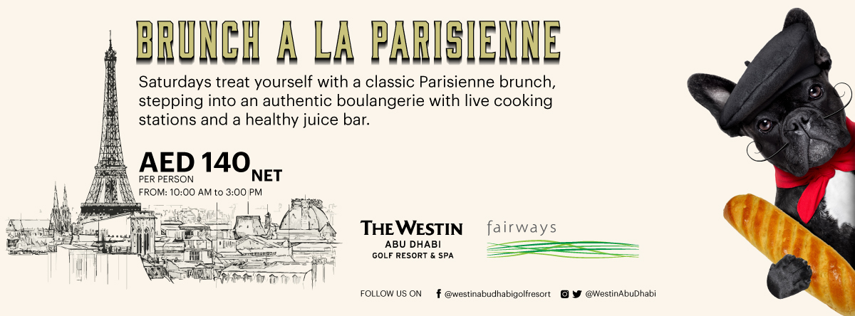 Brunch a'la Parisienne @ Fairways