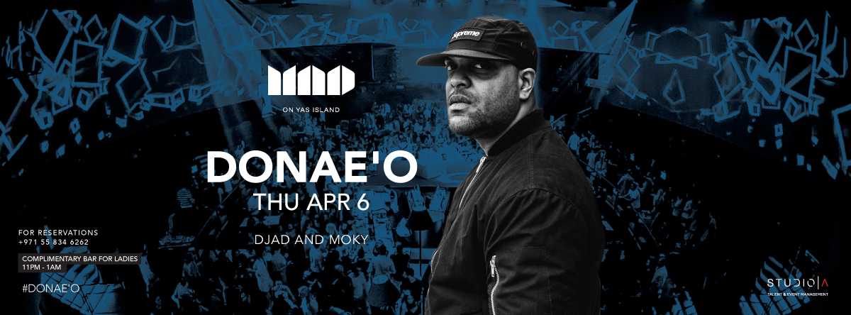 MAD on Yas Island presents Donae'o