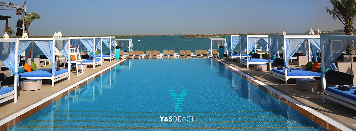 Friday's Pool Party @ Yas Beach