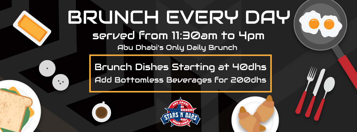 Boozy Brunch Daily @ Stars 'n' Bars