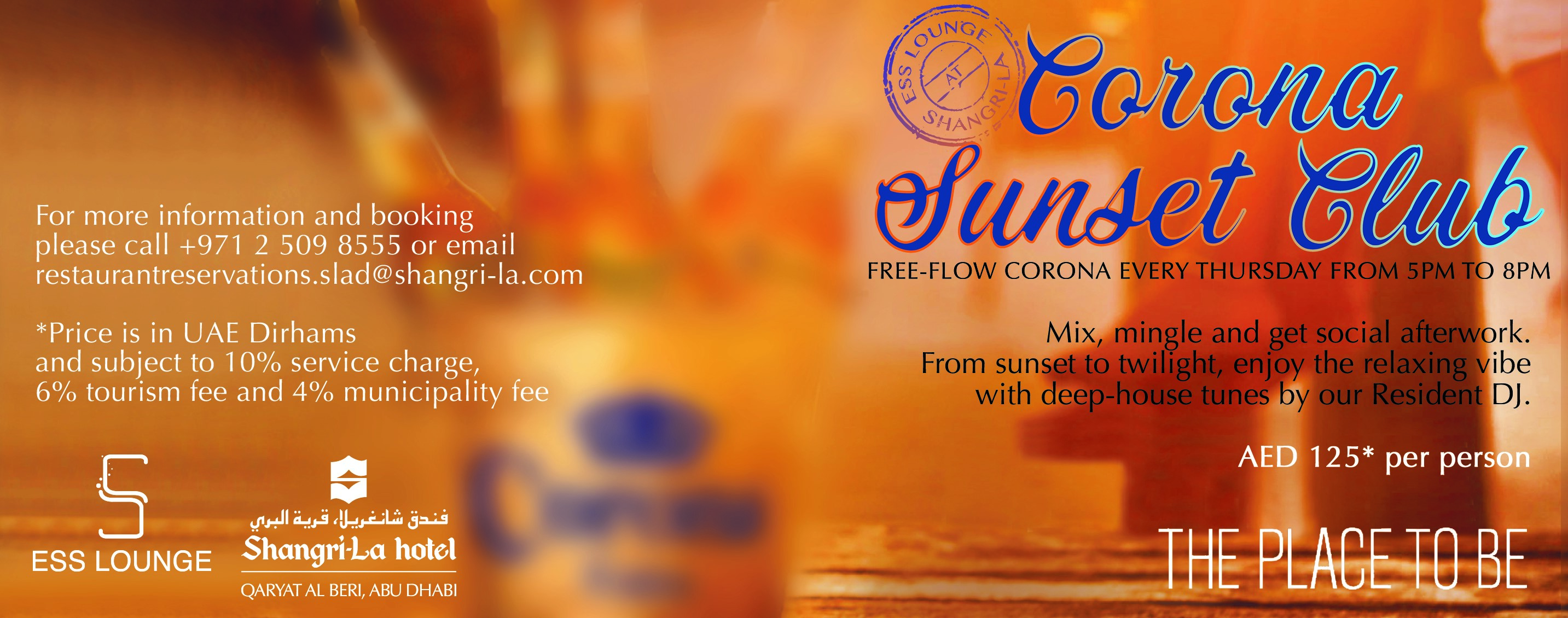 Corona Sunset Club @ ESS Lounge