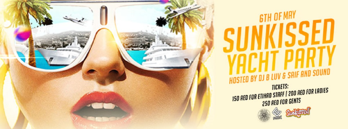 Sunkissed Yacht Party @ Prince of Sea UAE