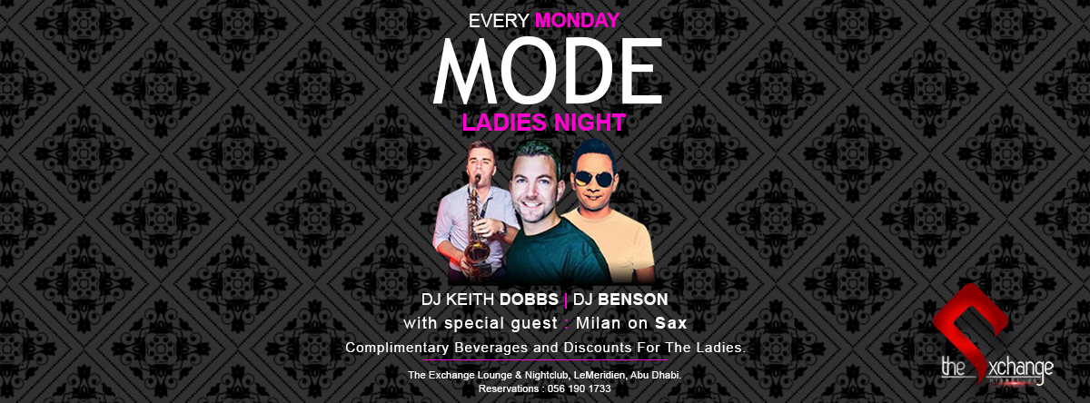 MODE Ladies night @ The Exchange