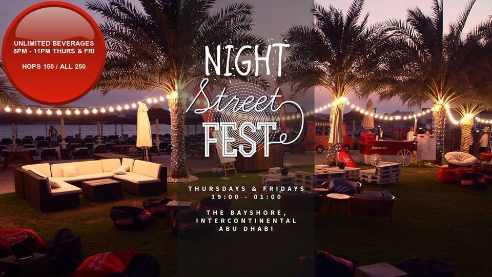 Night street fest @ Bayshore Beach Club