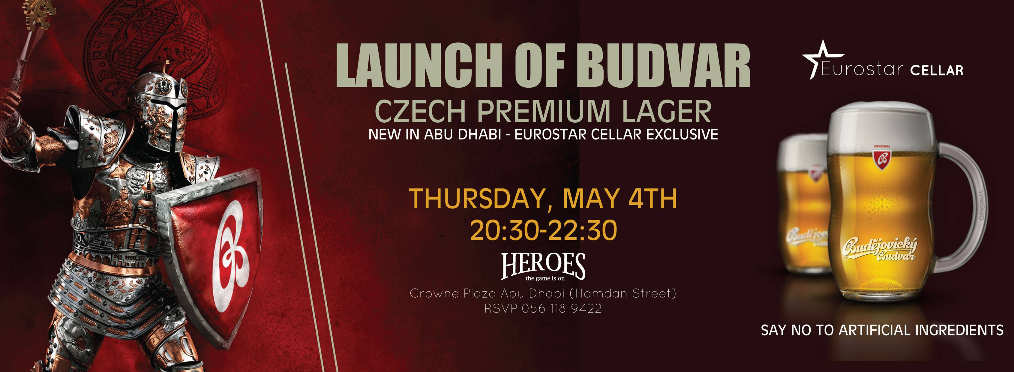 Launch of Budvar @ Heroes
