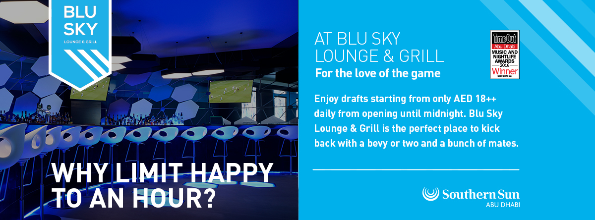 Happy Hour @ Blu Sky