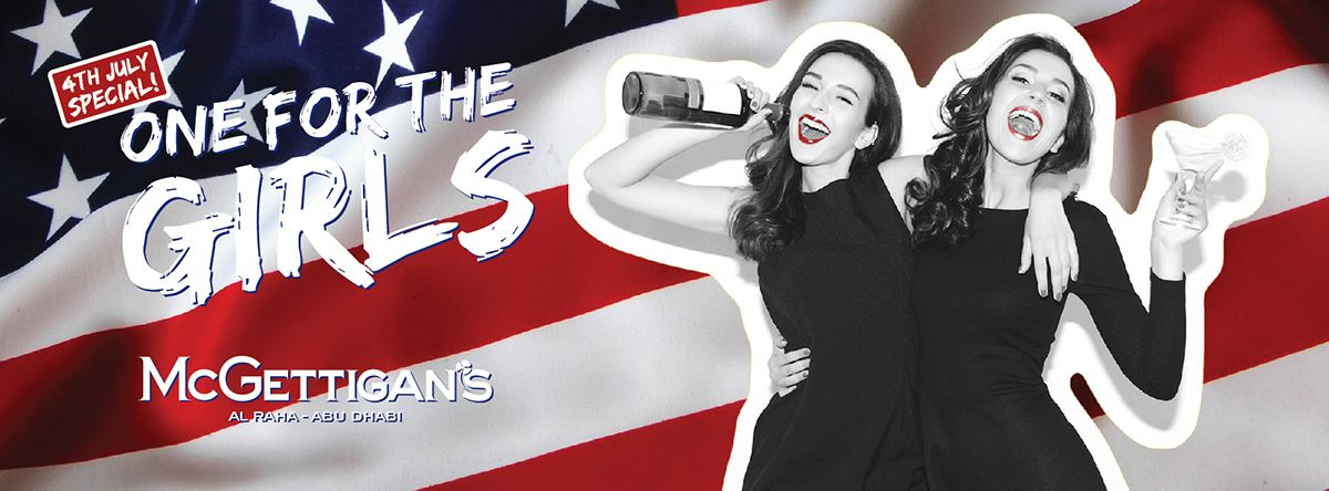 4th July Special Edition Ladies Night @ McGettigan's