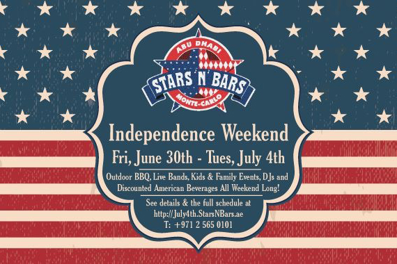 Stars n Bars celebrates Independence Day with a weekend of festivities