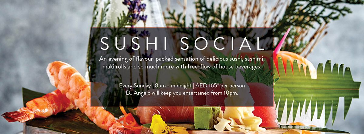 Sushi Social @ Barfly by Buddha Bar