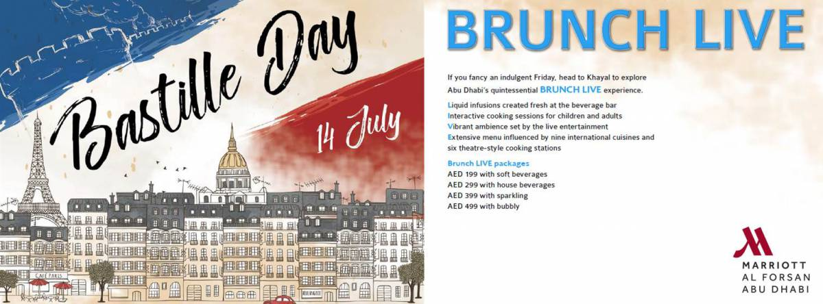 French National Day Brunch @ Khayal